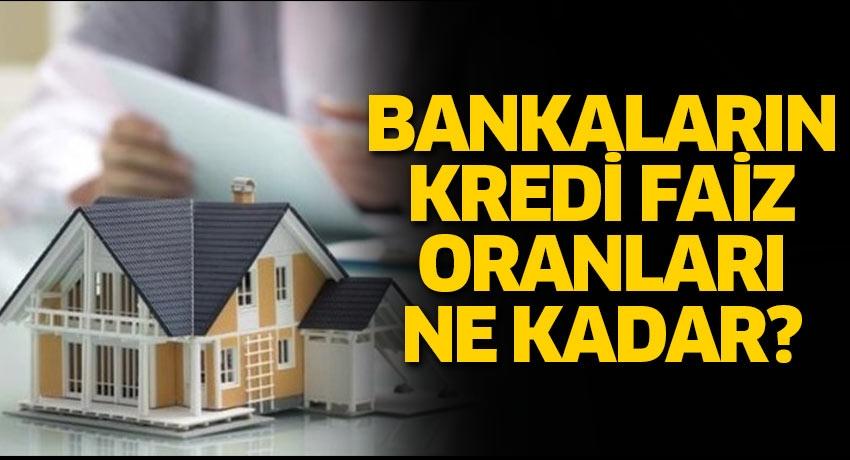 Kredi faiz oranlarında indirim! Ziraat, Akbank, Garanti ihtiyaç - taşıt - konut kredisi faiz oranları ne kadar?