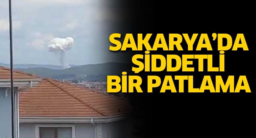 Sakarya'da Taşkısığı bölgesinde patlama! Patlamanın nedeni belli oldu
