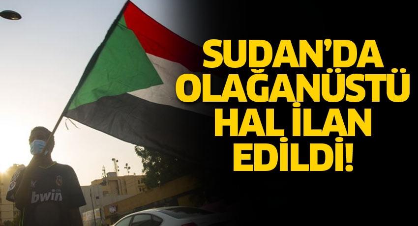 Sudan'da şiddet olaylarının yaşandığı Kuzey Darfur eyaletinde olağanüstü hal ilan edildi
