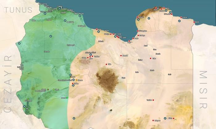 Türkiye son durumu paylaştı: İşte Libya haritası