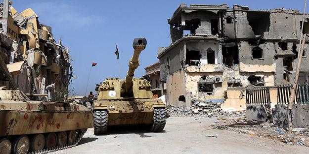Libya'da UMH dünyaya duyurdu: Operasyona başladık