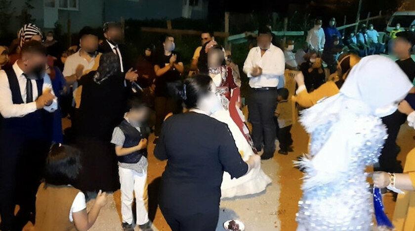 Bursa'da skandal düğün: Koronavirüs karantinasına alınan anne, kızının düğününde herkese virüs yaydı
