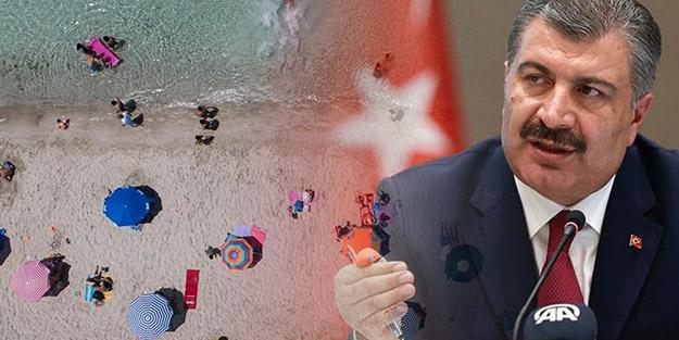 Sağlık Bakanı Fahrettin Koca'dan flaş koronavirüs uyarısı: Birinci dalga sahillere indi