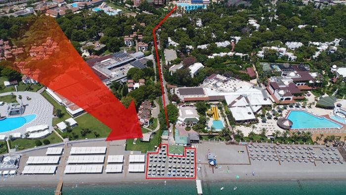 5 yıldızlı otelin 'sahilde adil paylaşım' isyanı!