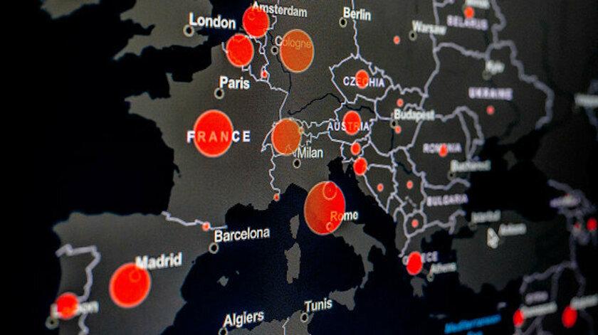 Dünyada koronavirüs vaka sayısı 300 bini aşan ülkeler listesi belli oldu; İşte Türkiye'nin listedeki yeri
