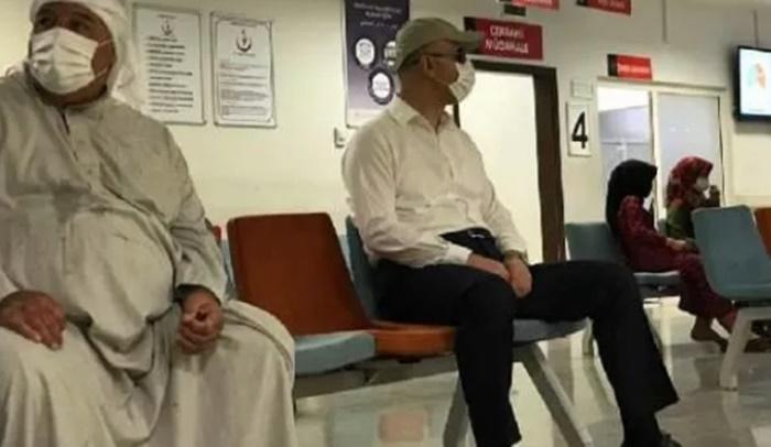 Kimse anlamadı: Hastaneye denetime böyle geldi