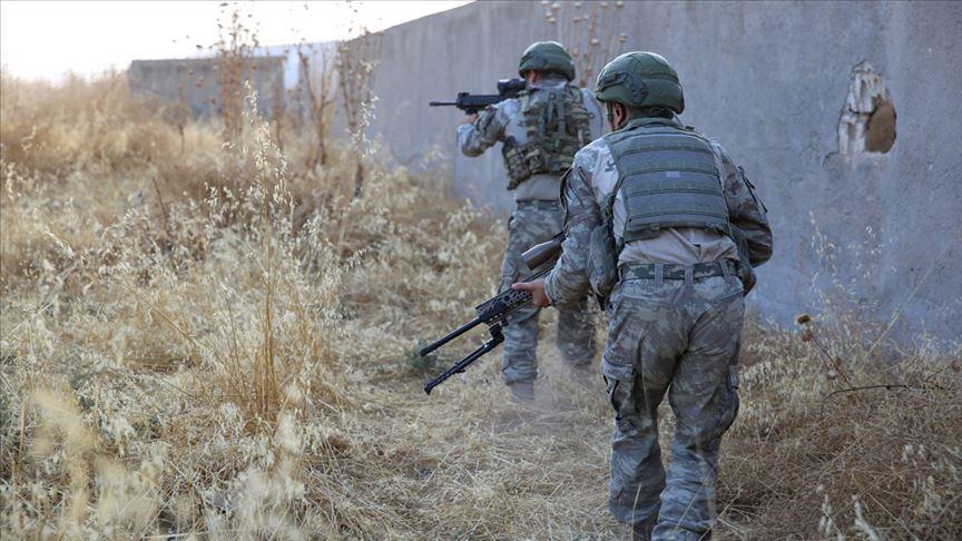 Zeytin Dalı bölgesinde 5 PKK/YPG'li terörist gözaltına alındı