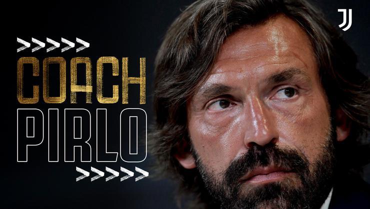 Juventus'un yeni hocası Pirlo oldu