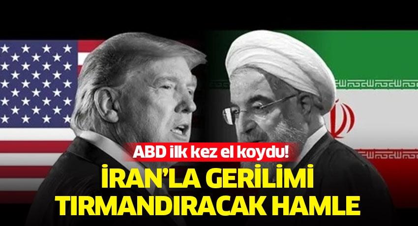 ABD İran petrolünü taşıyan 4 gemiye el koydu