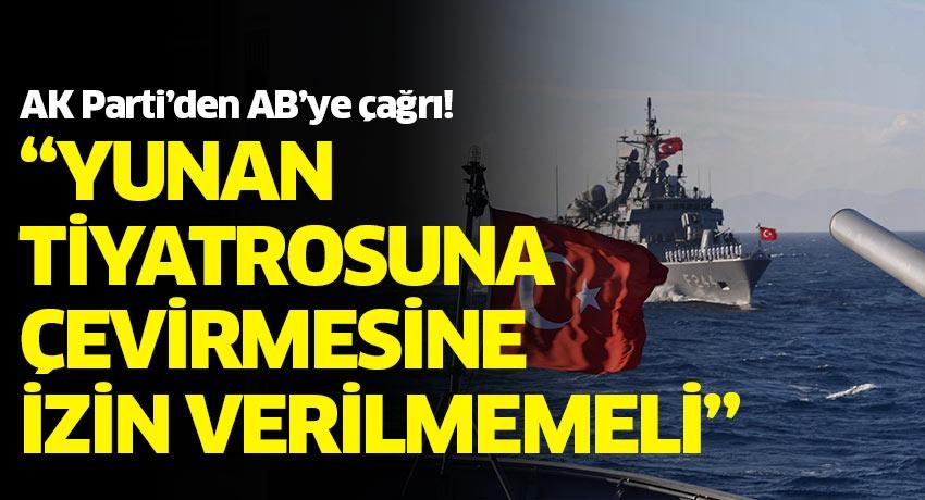 AK Parti Sözcüsü Ömer Çelik'ten Yunanistan'a tepki, Avrupa Birliği'ne çağrı!