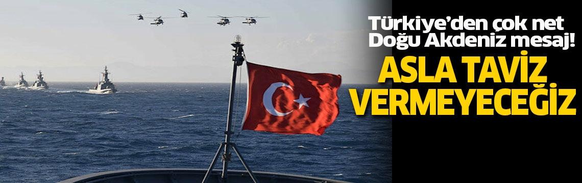 """Bakan Çavuşoğlu'ndan dünyaya net Doğu Akdeniz mesajı! """"Asla taviz vermeyiz"""""""