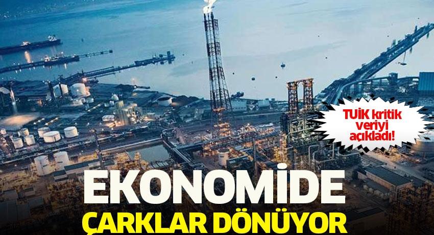 Ekonomide çarklar dönüyor... TÜİK kritik veriyi açıkladı: Sanayi üretimi Haziran'da beklentilerin üzerinde!