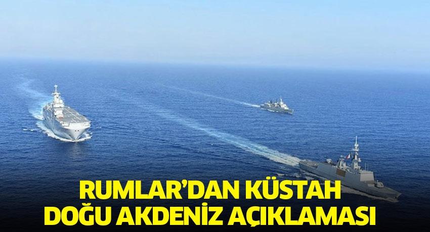 Güney Kıbrıs Rum yönetiminden küstah Doğu Akdeniz açıklaması: Türklere karşı...