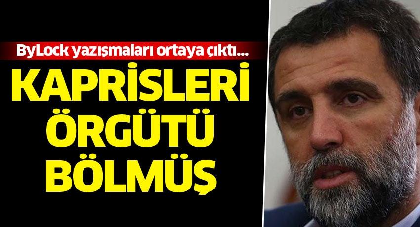 Hakan Şükür'ün ByLock yazışmalarından çıktı
