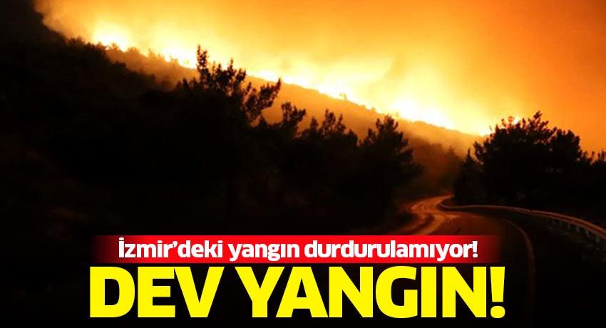 Kötü haberler geliyor! İzmir'deki yangın tahliye edilen siteye sıçradı! Müdahale sürüyor...