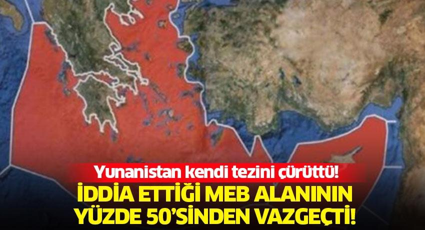 Yunanistan'ın tezlerinin çöküşü! Doğu Akdeniz'de Yunanistan-Mısır anlaşması geçersiz