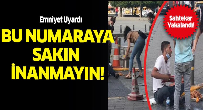 Bayılma numarası yaparak insanları dolandıran sahtekara Ankara Emniyeti Dur dedi.
