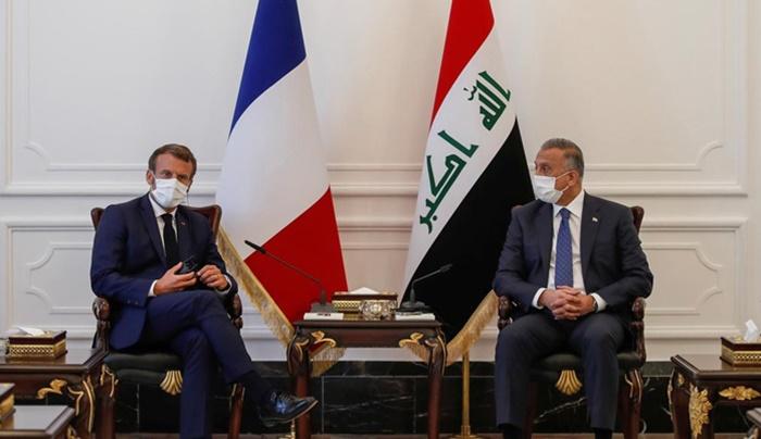 Macron: Türkiye Irak'ın iç işlerine giderek daha fazla karışıyor