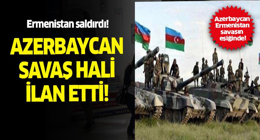 Azerbaycan, Ermenistan ile savaşın eşiğine geldi