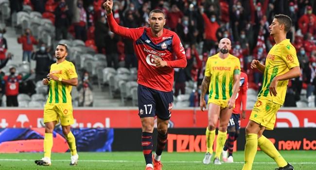 Burak attı Lille kazandı