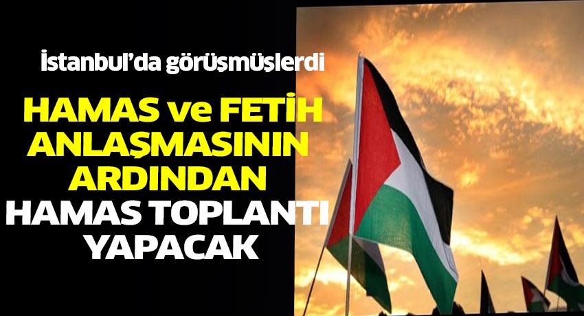 Filistin'de Hamas ile Fetih anlaştı. Anlaşmanın ardından gözler yapılacak toplantıya çevrildi.