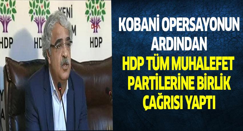 Kobani Eylemleri Operasyonunda Gözaltına Alınan HDP'liler Muhalefetten Yardım İstedi