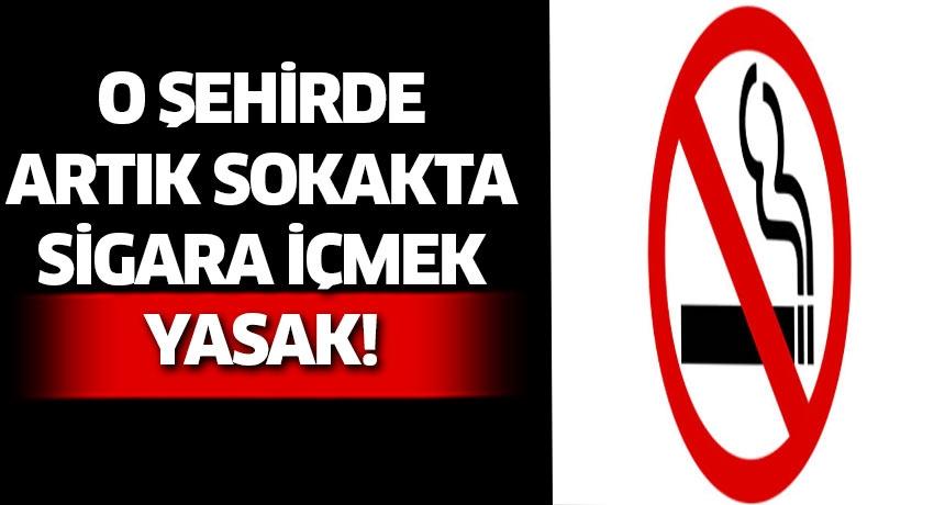 Giresun valiliği sokakta sigara içmeyi yasakladı