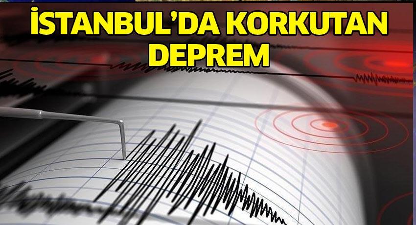 İstanbul'daki depremde büyük benzerlik! Geçen yıl aynı tarih....