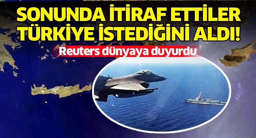 Sonunda itiraf ettiler, Türkiye istediğini aldı! Reuters dünyaya duyurdu