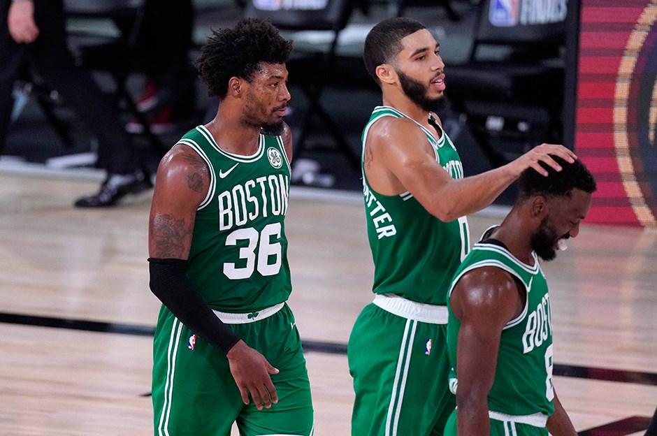 Üçüncü maç Celtics'in