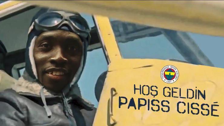 Cisse resmen Fenerbahçe'de