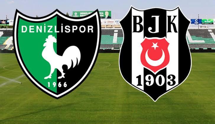 Beşiktaş Denizli deplasmanında