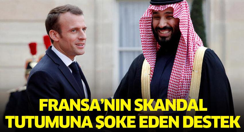 Fransa'nın skandal tutumuna şoke eden destek
