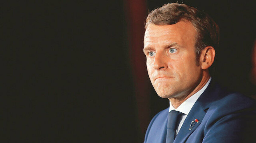 İslam'a ve Peygambere saldıran Macron paranın kokusunu alamayınca çark etti