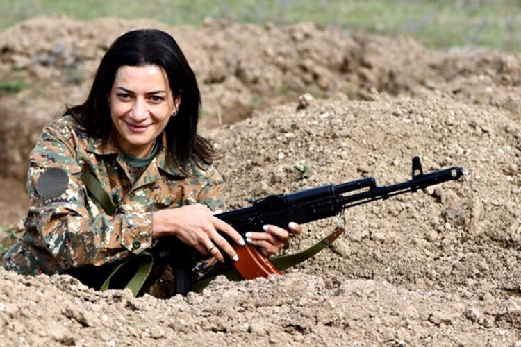 Ermenistan iyice köşeye sıkıştı! Paşinyan'ın eşi cepheye gitme kararı aldı