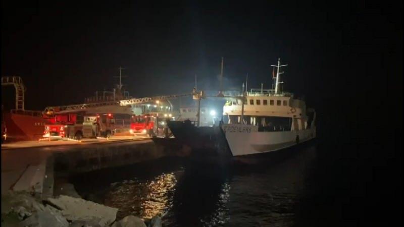İstanbul'da gemi yangını! Çok sayıda ekip sevk edildi