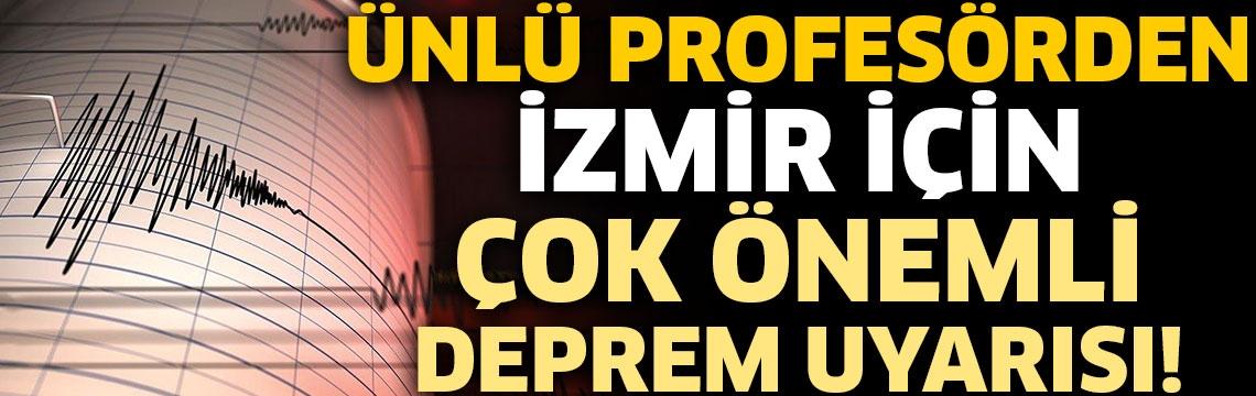 Prof. Dr. Şükrü Ersoy'dan İzmir için çok önemli deprem uyarısı!