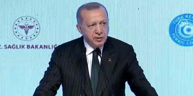 Cumhurbaşkanı Erdoğan'dan yerli aşı ve deprem açıklaması