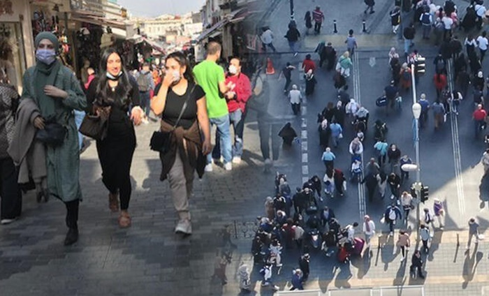 İstanbul'da şok eden manzara: Ben koronaya da inanmıyorum