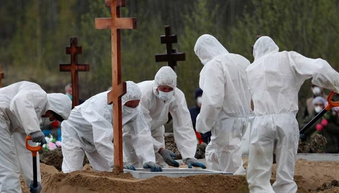 Rusya'da Korona'dan ölenlerin sayısı 26 bini aştı