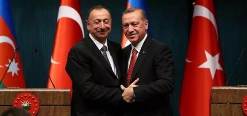 Erdoğan'la Aliyev arasında kritik görüşme