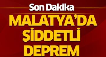 Malatya'da 4.7 şiddetinde deprem meydan geldi