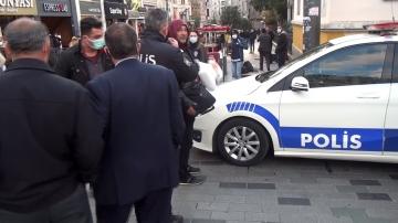 """Taksim'de ceza kesen polise tepki: """"Seninle görüşeceğiz"""""""
