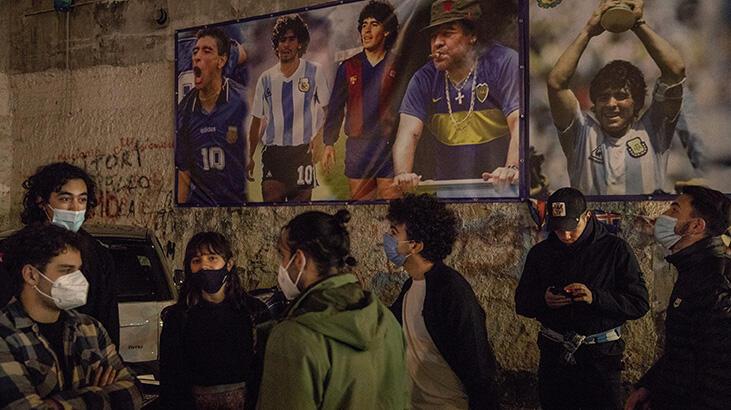 İtalya'da Maradona yası