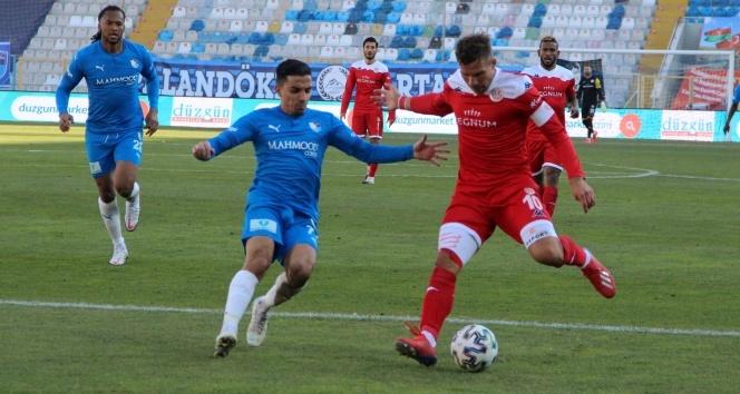 BB Erzurumspor ile FT Antalyaspor yenişemedi
