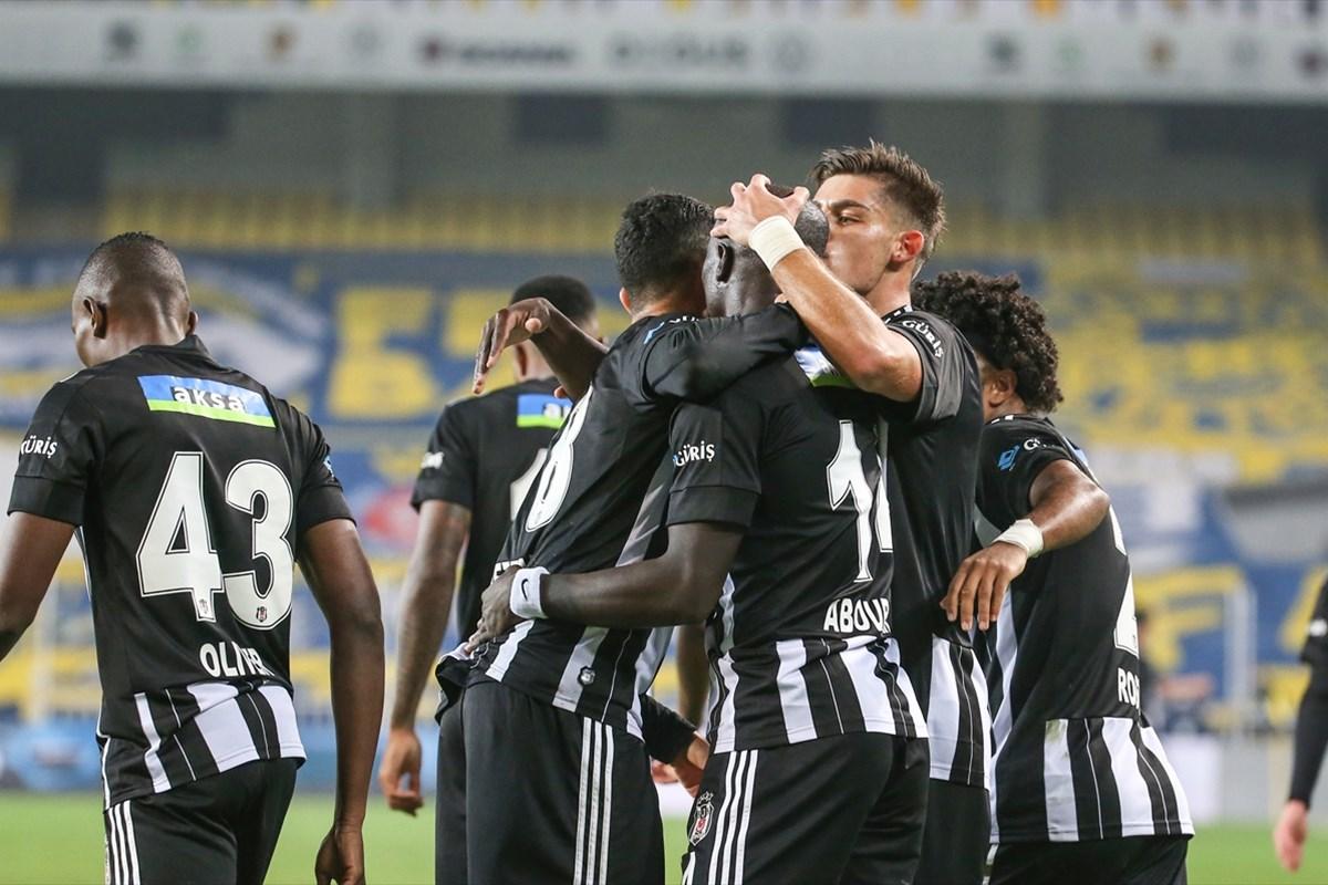 Aksiyonlu derbinin galibi Beşiktaş