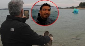 Denizde gören telefona sarıldı: Gerçek çok farklı çıktı