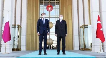 Cumhurbaşkanı Erdoğan'dan Katar mesajı: Güçlü gönül bağlarıyla ayrılmaz bir bütünüz