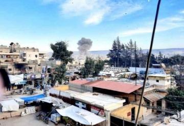Afrin'de bomba yüklü araç patladı! Çok sayıda yaralı ve ölü var