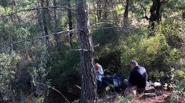 Antalya'da ormanda yakalandılar: Kurdukları sistem şaşırttı